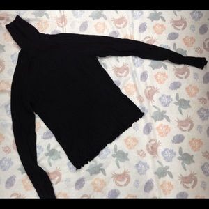 ZARA KNIT SHORT TURTLE NECK NEW WITHOUT TAGS SZ S